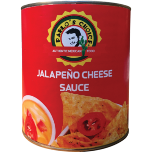 Pablo's Choice Cheese sauce can